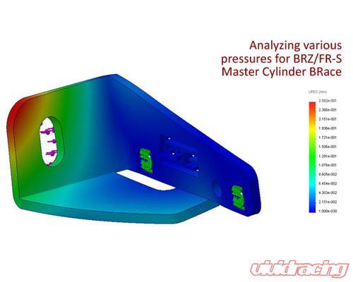 BRZ FR-S Toyota 86 091038 GrimmSpeed Brake Master Cylinder Brace 13