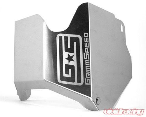 grimmspeed turbo heat shield with black ceramic coating subaru forester xt  04-15 - 092005