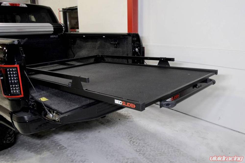 Bedslide Classic 65 Inch X 48 Inch Black 5 5 Foot Super Shortbed Chevy Silverado Crew Cab Ford F150 Crew Cab Ford Raptor Dodge 5 7 Foot Shortbeds 10 6548 Clb