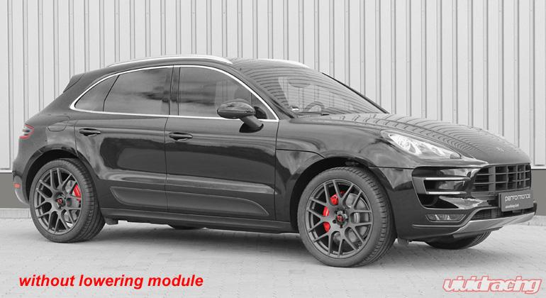 cargraphic electronic suspension lowering module porsche macan s 2014. Black Bedroom Furniture Sets. Home Design Ideas