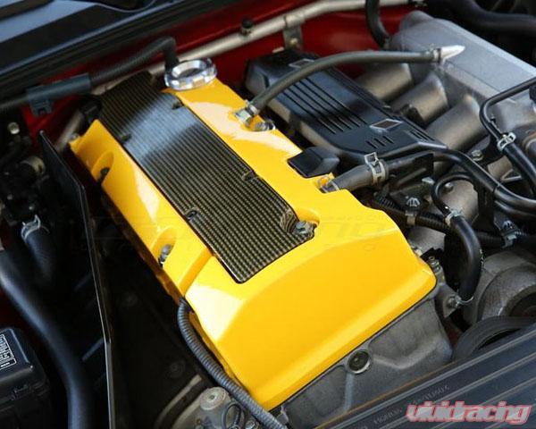 Spoon Sports Engine Valve Cover Yellow Honda S2000 Ap2 F22c 04 09 12310