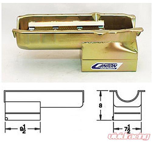Canton Racing SBC Drag PAN 1 Piece Seal