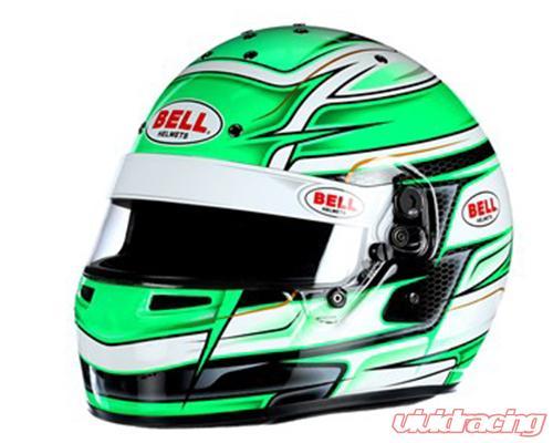 Bell Racing Helmets >> Bell Racing Kc7 Cmr Venom Green Helmet 54 6 3 4 Cmr2016