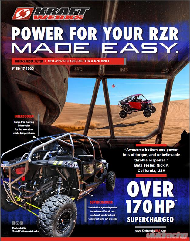 KraftWerks Supercharger System Polaris RZR XP 1000 | RZR XP4 1000