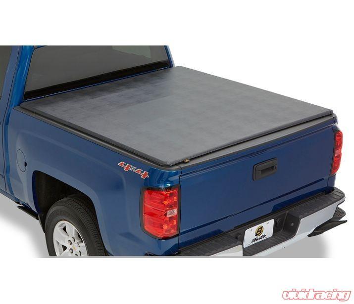 16146 01 Bestop Black Ez Fold Soft Tri Fold Tonneau Cover Nissan Frontier 5 Ft Bed 2005 2019