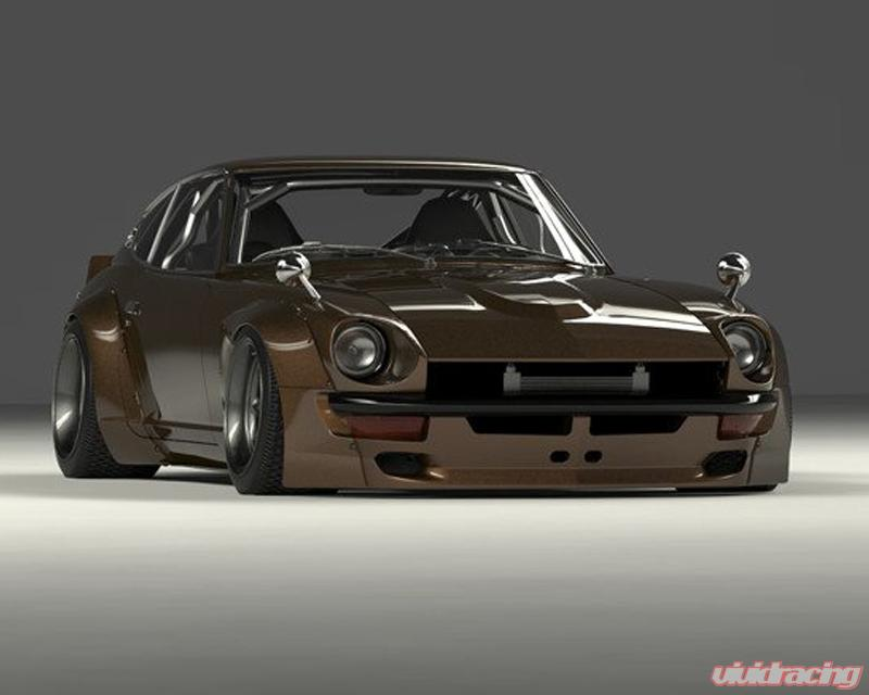 Pandem FRP Full Wide-body Kit Datsun 240z S30 70-73