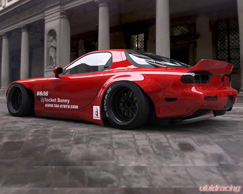 Mazda Rx7 2015 >> Greddy Rocket Bunny V2 Duck Tail Wing Mazda Rx 7 Fd3s 93 02