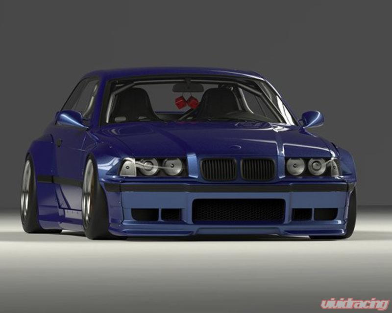 17090210 Pandem | FRP Wide-body Blister Kit BMW E36 325i Coupe