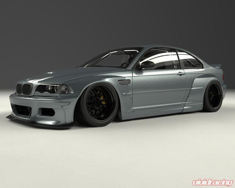 Pandem Blister Full Frp Wide Body Kit Bmw E46 M3 Coupe 01 06