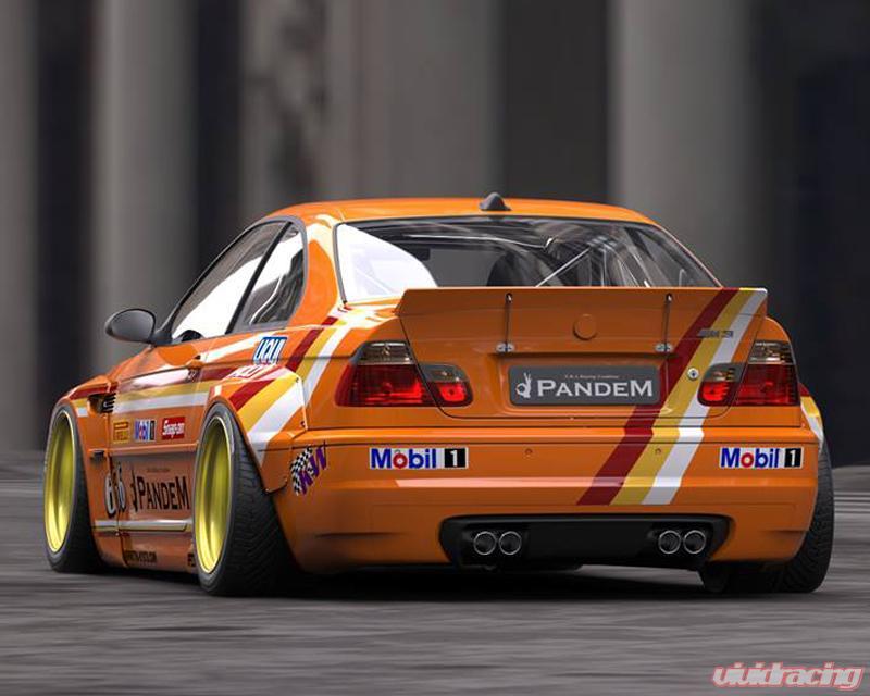 17090220 Pandem | Blister Full FRP Wide-body Kit BMW E46 ...