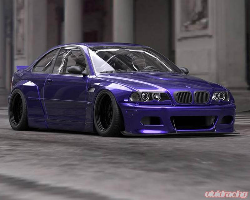Pandem Frp Wide Body Front Lip Bmw E46 M3 Coupe 01 06