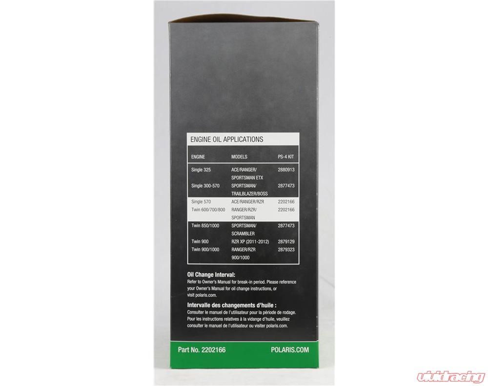 Polaris Oem Polaris Engineered Oil Change Kit 2202166 2202166