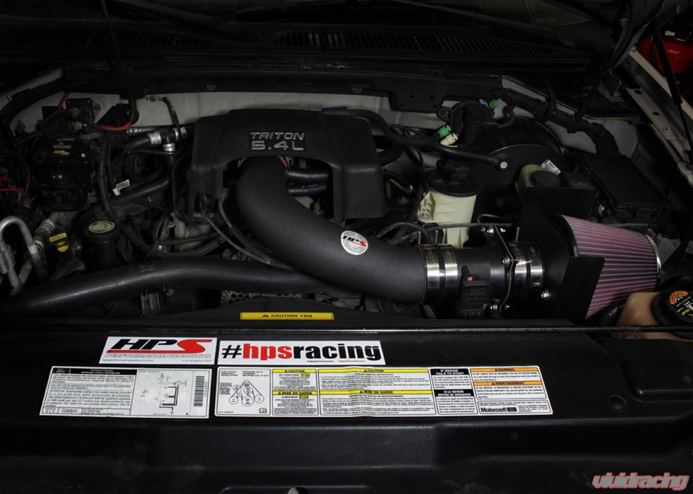 2004 Ford F150 Heritage >> Hps Black Cool Ram Air Intake Heat Shield 2004 Ford F150 Heritage 4 6l V8
