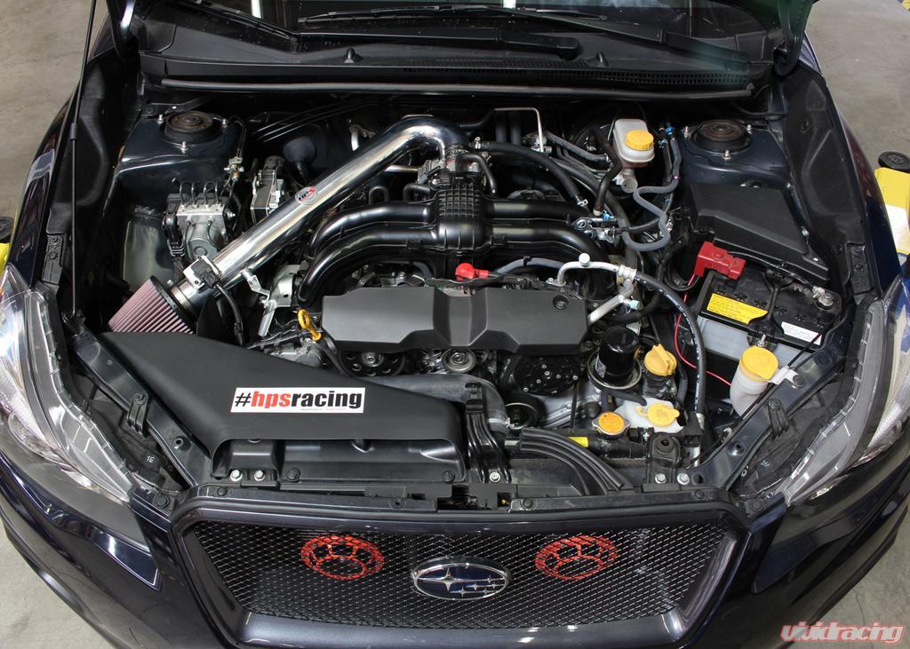 Hps Polish Shortram Air Intake Heat Shield 13 16 Subaru Xv