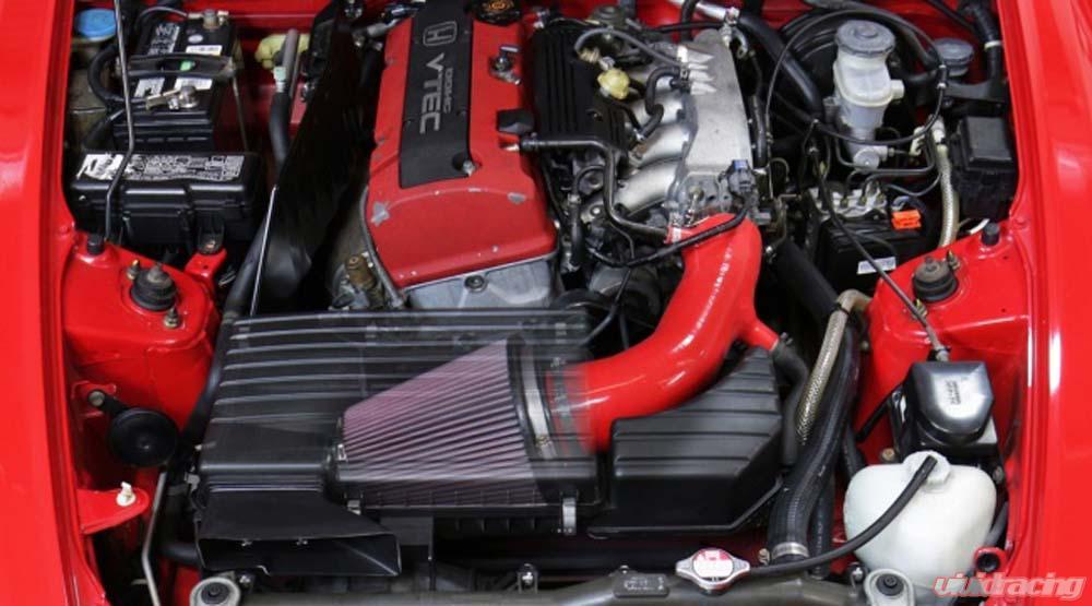 HPS Black Silicone Air Intake for 00-03 Honda S2000 AP1 2 0L