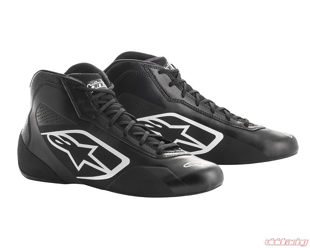 d315fd4dddc46 Alpinestars Tech 1-K Start Shoes Black | White Size 7