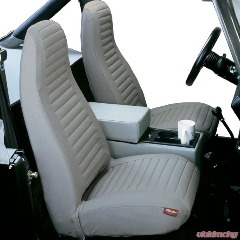 Jeep Wrangler Seat Covers >> 29224 09 Jeep Yj Seat Covers Front Highback Buckets 92 94 Jeep
