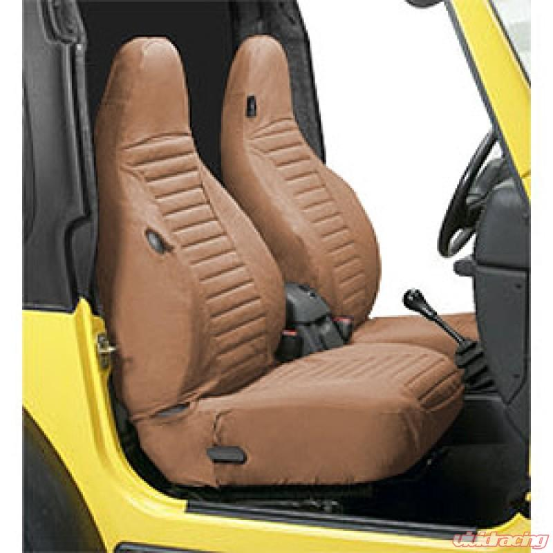 Jeep Seat Covers >> Jeep Tj Seat Covers Front Highback Buckets 97 02 Jeep Wrangler Tj Spice Pair Bestop