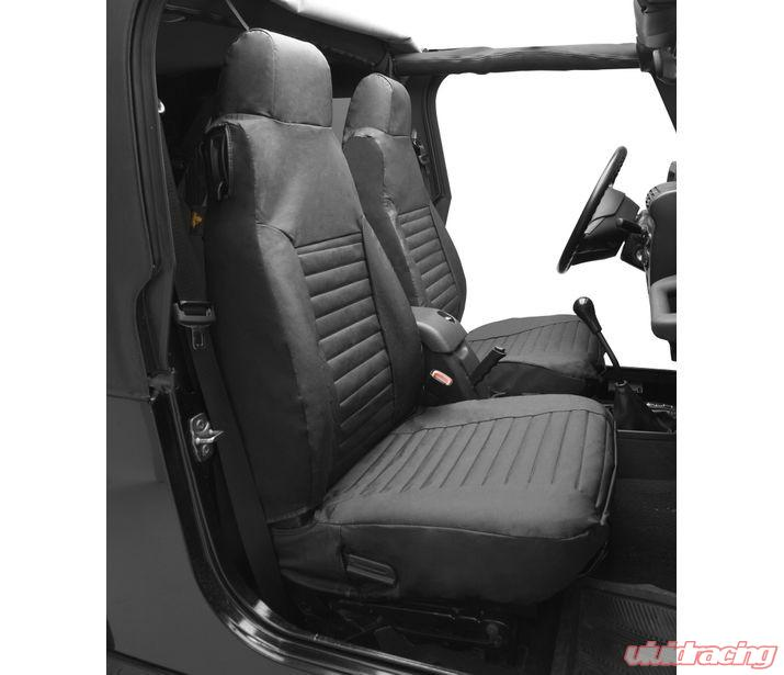 Jeep Wrangler Seat Covers >> Jeep Tj Seat Covers Front Highback Buckets 03 06 Jeep Wrangler Tj Or Unlimited Tj Black Diamond Pair Bestop