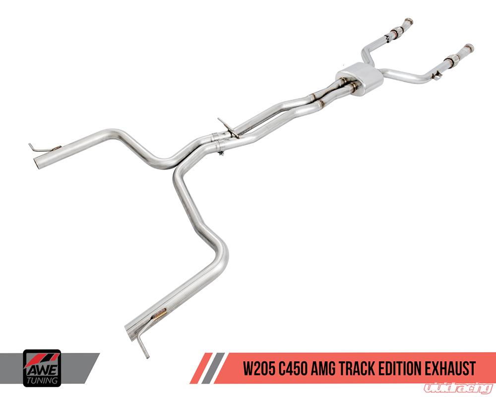 AWE Tuning Track Edition Performance Exhaust Mercedes-Benz C400 | C450 AMG  | C43 AMG W205 16-18