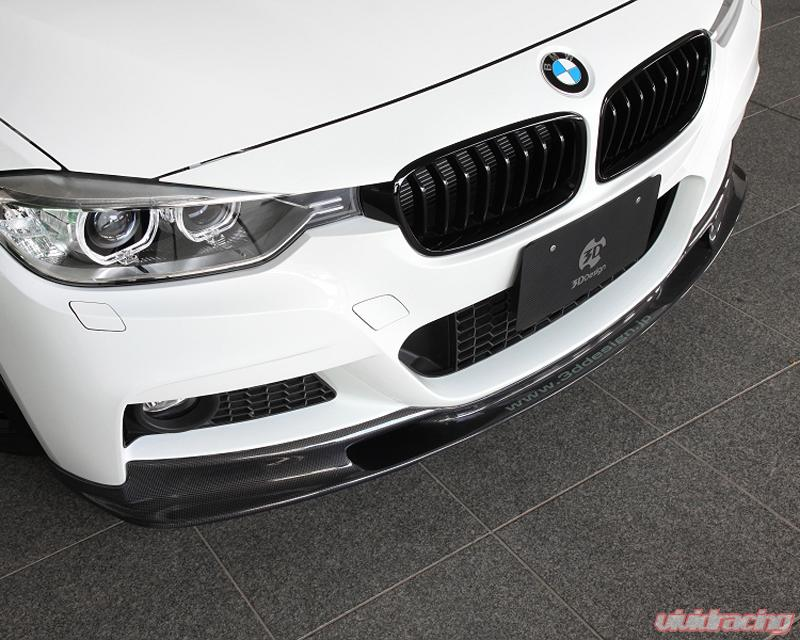 Carbon Fiber 3D Style Roof Rear Spoiler Wing fits BMW F31 3-Series Wagon Estate