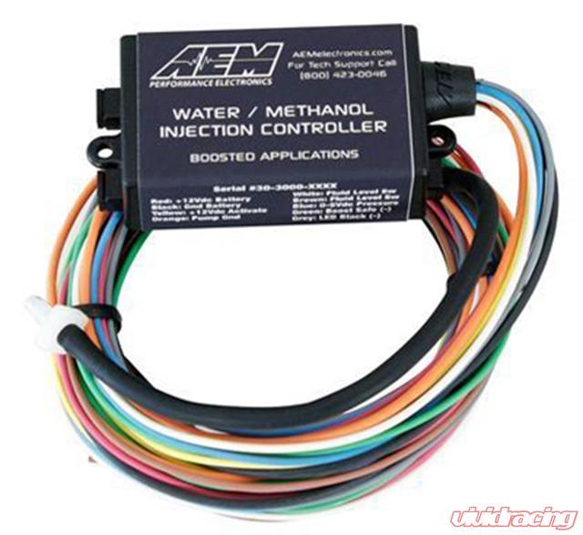 AEM Water   Methanol Injection HD Controller Universal   30-3306   Aem Water Methanol Wiring Harness      Vivid Racing