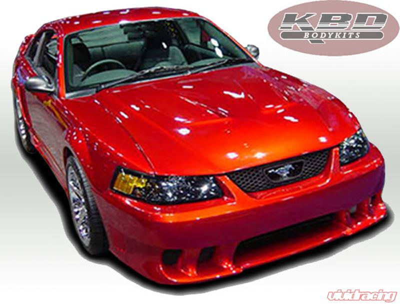 KBD Bodykits Sallen Style 6 Piece Full Body Kit Ford Mustang 99 04