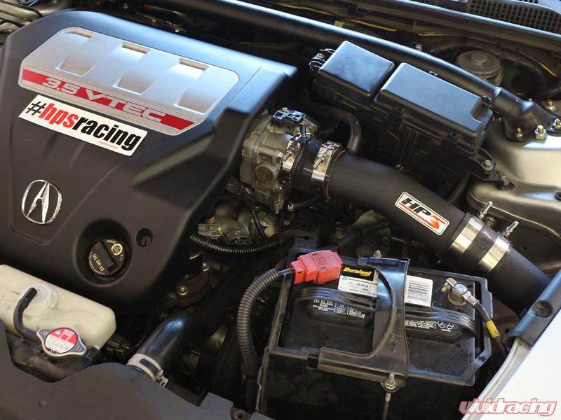 WB HPS Cold Air Intake Black WB Acura TL TypeS L - Acura tl cold air intake