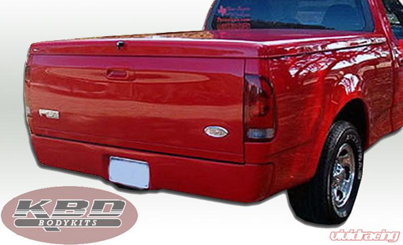 37 3016 Kbd Bodykits Premier Style 1 Piece Roll Pan Ford F 150 97 03