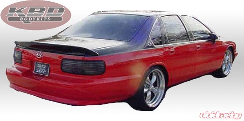 91-96 Chevrolet Impala Perf-Spec KBD Urethane Body Kit-Wing//Spoiler 37-6023