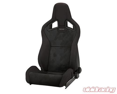 410 00 2351 Recaro Sportster Cs Right Seat Black Nardo Black Artista Grey Logo