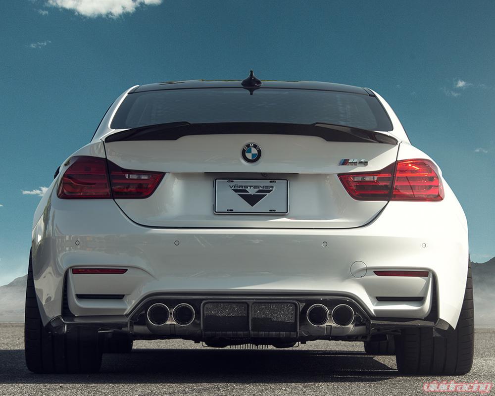 4103BMV   Vorsteiner EVO Carbon Fiber Rear Spoiler BMW M3 F80