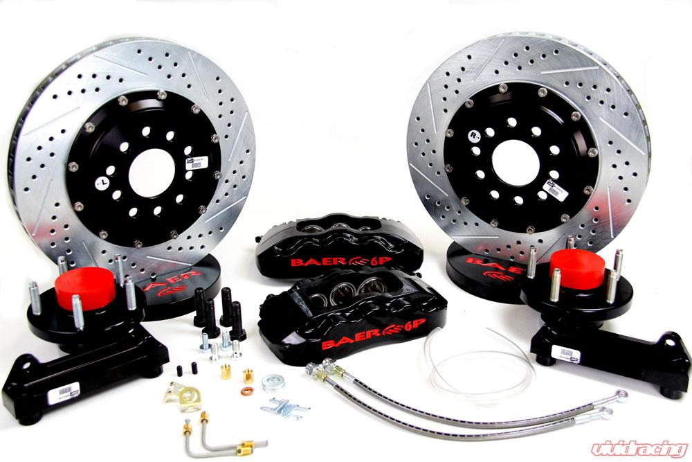 Brake System 13 Inch Front Pro+ Black 70-72 Mopar/Dodge/Plymouth E And B  Body BAER Brakes