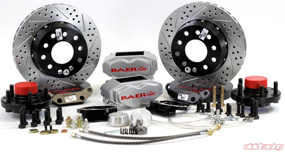 Brake System 11 Inch Front SS4+ Silver 66-72 Mopar/Dodge/Plymouth E And B  Body BAER Brakes