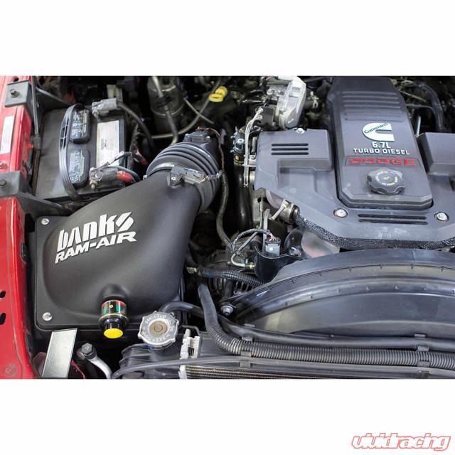 42180 D Ram Air Cold Air Intake System Dry Filter 10 12 Dodge Ram