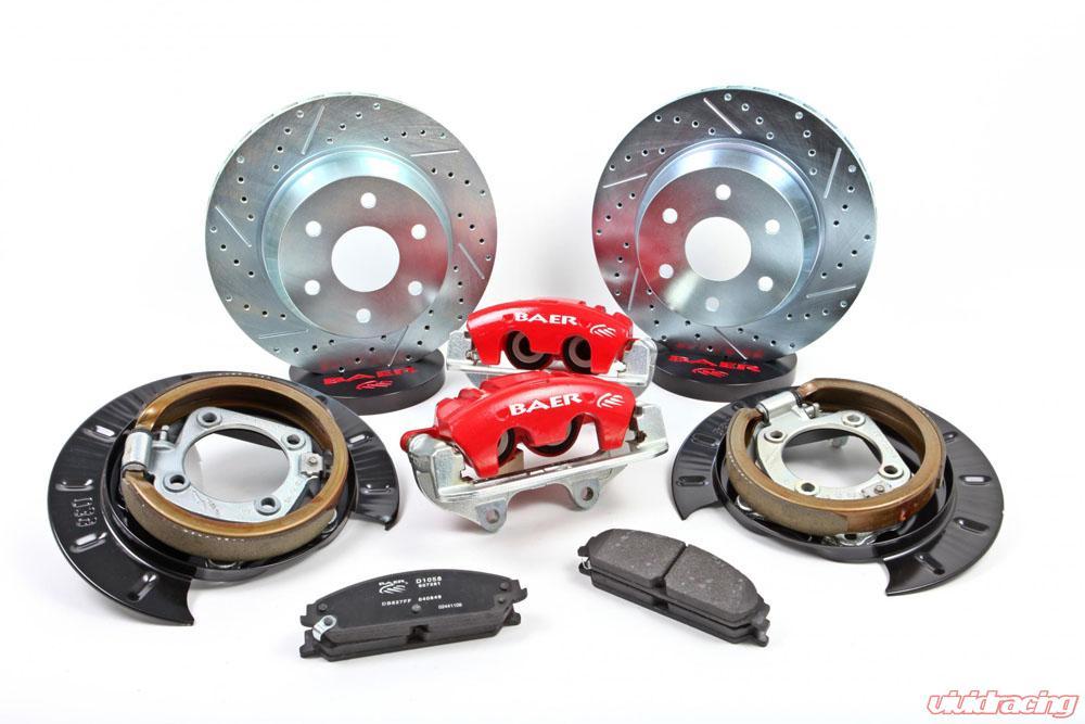 Brake System 14 Inch Rear AlumaSport 99 GM 1500 BAER Brakes
