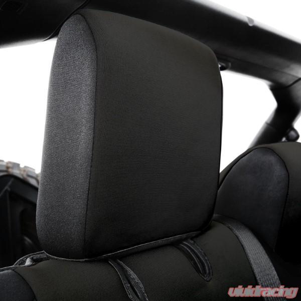 Remarkable Jeep Jl Neoprene Front And Rear Seat Cover Set Wrangler Jl 4 Door Black Black Smittybilt Short Links Chair Design For Home Short Linksinfo