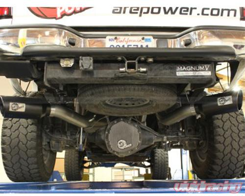 Afe Atlas Aluminized Steel Dpf Back 4 Inch Exhaust With Black Tip Chevrolet Silverado 2500 11: Silverado 4 Inch Exhaust At Woreks.co