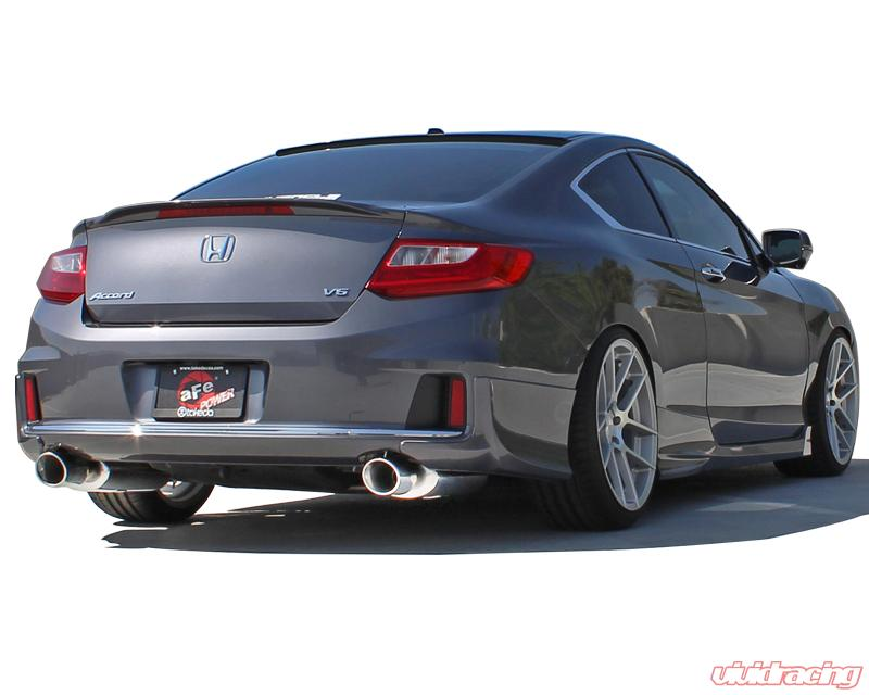 Takeda Usa Stainless Axle Back Exhaust With Polished Tips Honda