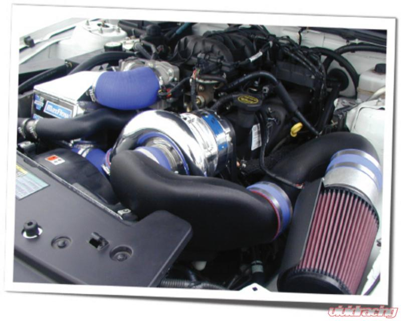 Vortech 351W Supercharging System With V 2 Si Trim Satin Finish Ford  Mustang 5 0L 94-98
