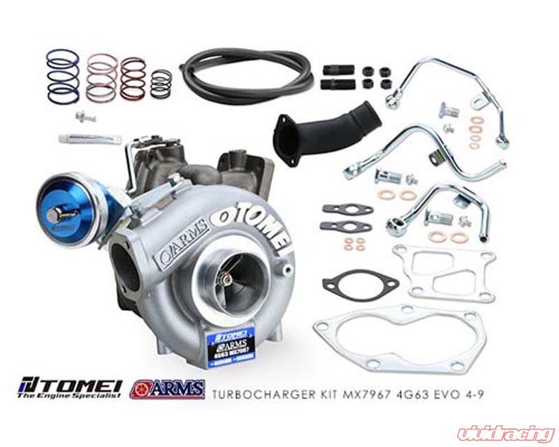 Tomei MX7967 Turbo Kit 4G63 Mitsubishi Lancer Evolution IV-IX 97-07