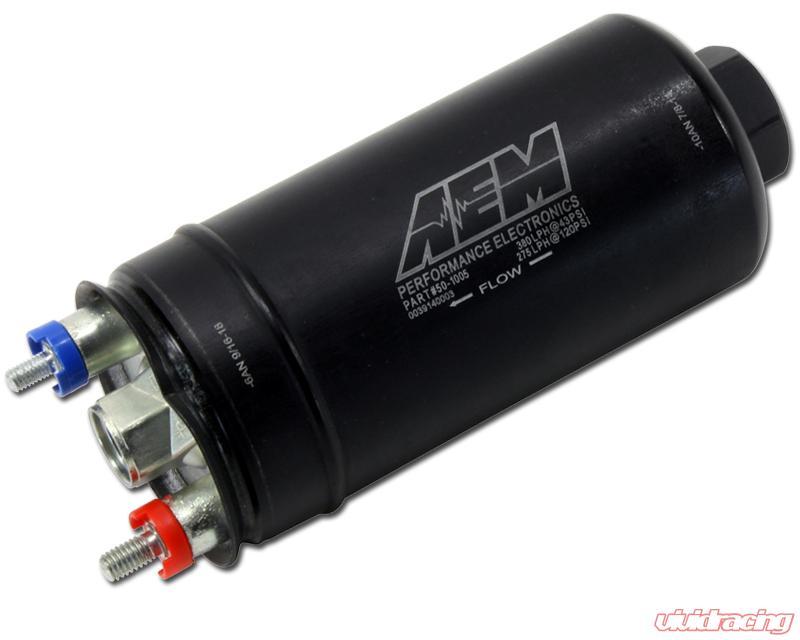 380lph AEM 50-1005 Inline High Flow Fuel Pump