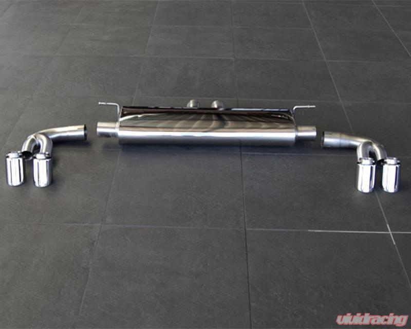 Hamann 4 Tailpipe Va Chrome Sport Rear Muffler Bmw X5 X6 Xdrive40d Xdrive 50i M50d F15 F16 14 16