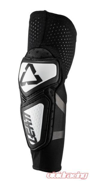 5019200140 Small//Medium Contour Leatt Elbow Guard White//Black