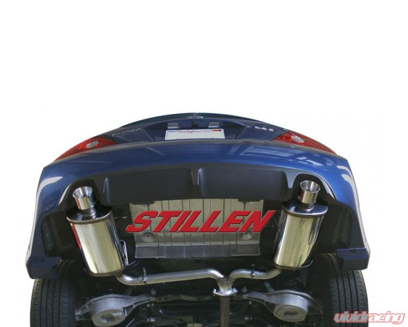 508275 stillen stainless steel axle back exhaust system nissanstillen stainless steel axle back exhaust system nissan altima coupe 2 5 08 13