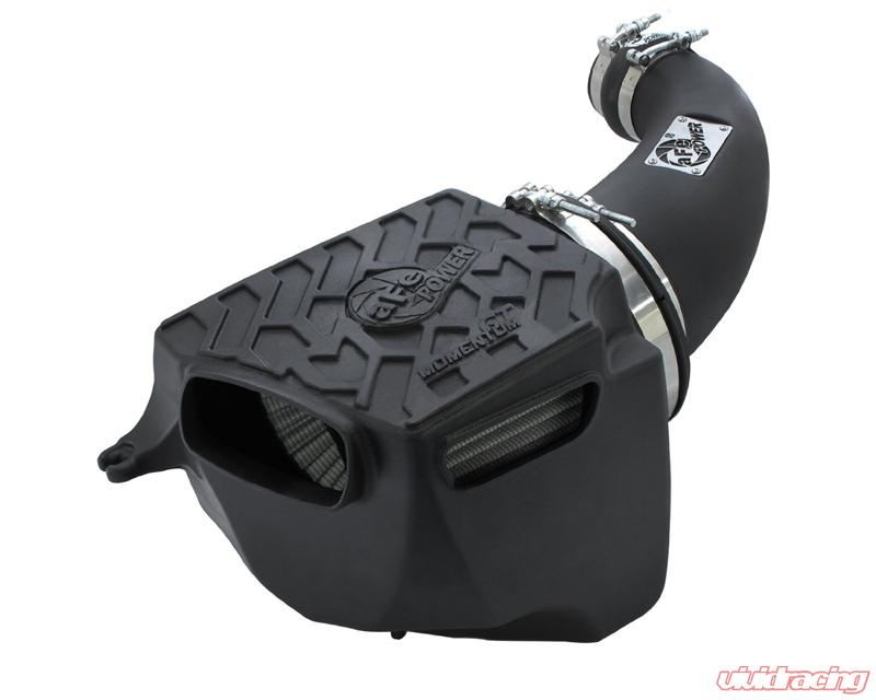 RACING AIR INTAKE SYSTEM DRY FILTER For 07-11 JEEP Wrangler 3.8L V6