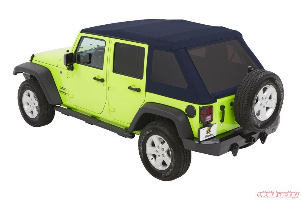 54923 69 Jeep Jk Unlimited Soft Top Trektop Nx Glide 07 17 1988 Wrangler Hard 4