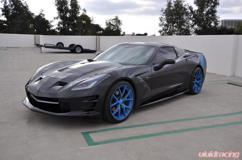 Corvette Body Kit Chevrolet Corvette TrueFit Fiberglass M-Spec 9 Pcs Full  Kit Icon Composites 14-17