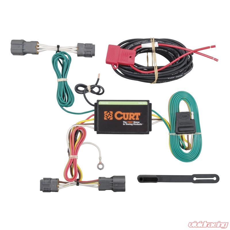 56220   Curt Custom Wiring Harness (4-Way Flat Output)Vivid Racing