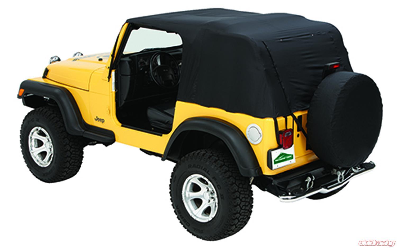 Jeep TJ Emergency Soft Top 04 06 Jeep Wrangler TJ Unlimited W/Rain Ponchos